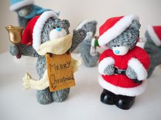 Christmas Me to You Bear Figurine Collection | Katie Kirk Loves #decorations #ornaments