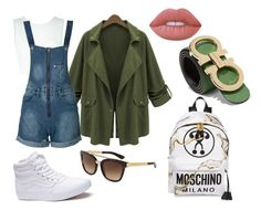 """""""Ñomi"""" by olivia-senties on Polyvore featuring moda, A.L.C., WithChic, Dolce&Gabbana, Moschino, Vans, Salvatore Ferragamo y Lime Crime"""
