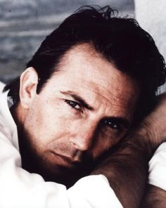 Kevin Costner. Who wouldn't want this guy looking at you this way? deep sigh...