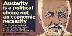 Jeremy Corbyn on austerity