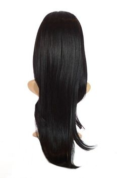 Black V Tress Natural Wave Hair Extensions | 23 inch Long One Piece V Part Weft Hair Extensions - Brought to you by Avarsha.com