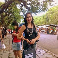 Fotos de Passeios em Porto Alegre - eu no Bric/ Brique / amo passear lá
