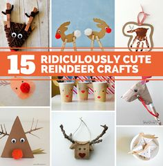 15 Ridiculously Cute Reindeer Crafts For Kids