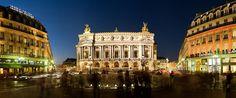 vestiaire de l'opera garnier | opera national de paris de nuit photo panoramique de l opera garnier ...