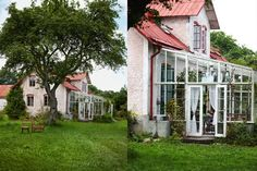 The Little things from Beach & eau: PETER GERKE ..... a house in Gotland SWEDEN .................. ............. ........