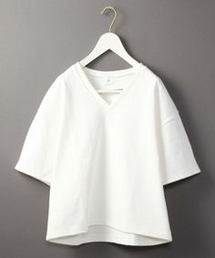 <6(ROKU)>COTTON WIDE SHORT SLEEVE/カットソー