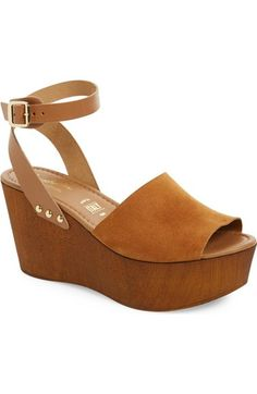 Seychelles Platform Wedge Sandal (Women) available at #Nordstrom