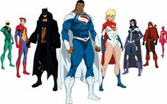 Justice Incarnate-Earth-23: Current Members Aquawoman (Earth 11), Batman (Earth 17), Green Lantern (Earth 20), Red Racer (Earth 36), Captain Carrot (Earth 26), Machinehead (Earth 8), Mary Batson (Earth 5), Superman (Earth 23), Thunderer (Earth 7)
