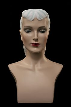 Bust | Lily - 1930s Antique Styled Mannequin Bust - MannequinStore.com