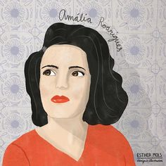 Amália Rodrigues was a portugese Fado singer. I listen to her music all the time, even though i do not understand a word. Amalia Rodriguez, Illustrators On Instagram, Her Music, Famous People, Aurora Sleeping Beauty, Singer, Illustration, Portraits, Caricatures