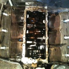 Corvair engine, 110hp, 2 carb.