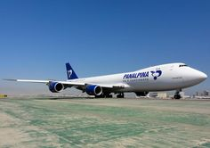 Panalpina 747 -800 F at LAX @SpeedbirdHD