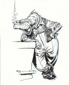 Blacksad by Juanjo Guarnido.