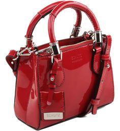 20a47e47b BABY LORENA VERNIZ RED Bolsa Vermelha, Personalidade, Vermelho, Mochilas,  Bolsas