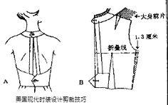 美国现代时装设计剪裁技巧