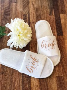 Your place to buy and sell all things handmade Excited to share this item from my shop: Hen party personalised slippers, glittery spa slippers for hen party, bridal party slippers Spa Bachelorette Parties, Bachelorette Party Planning, Bacherolette Party, Party Hair, Party Gifts, Spa Slippers, Name Gifts, Team Bride, Bridal Shower