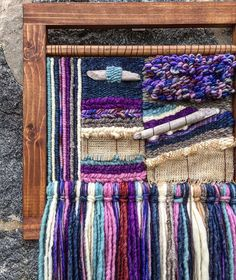 Click Visit link to see Weaving Projects, Weaving Art, Tapestry Weaving, Loom Weaving, Hand Weaving, Textiles, Woven Wall Hanging, Mini Quilts, Rug Hooking