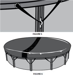 Above Ground Winter Pool Cover Instructions Backyard Pool Landscaping, Small Backyard Pools, Swimming Pools Backyard, Landscaping Ideas, Outdoor Pool, Above Ground Pool Cover, Winter Pool Covers, Pool Hacks, Pool Care