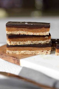 Raw Caramel Slice (G