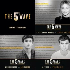 The 5th wave casting