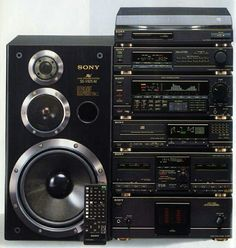 Hifi Music System, Audio System, Mini System, Home Theater Sound System, Sony Speakers, Hifi Audio, Audio Equipment, Audiophile, Gadgets