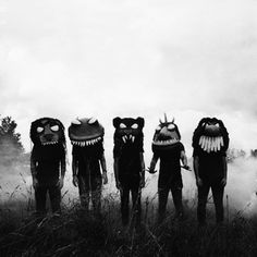 Maybe we all need to be monsters in my family for Halloween. That would be cute and fun to make.