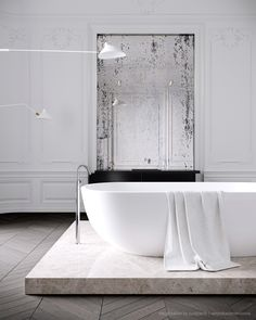 Parisian apartment by Jessica Vedel - via Coco Lapine Design
