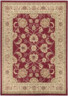 Royal Red Area Rug