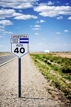 Ruta 40 to #SantaCruz #Argentina #postcards