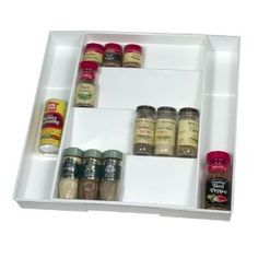 No room for your spices? How about in a drawer?