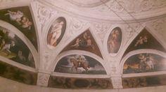 Affreschi nel Torrione da Basso nel Castello del Buonconsiglio a Trento.  1531
