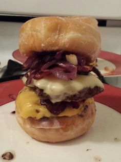 Behold The Luther Burger!!