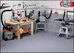 Dust Collection System Design and Equipment / Rockler How-to ...
