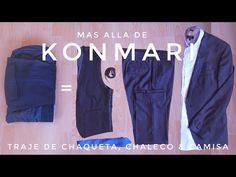 Cómo doblar Trajes de Chaqueta + Camisa + chaleco   más allá