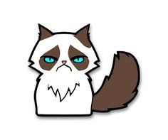 Who doesn't want the Grumpy Cat SVG file!?!?  The Lady Wolf: Grumpy Cat SVG