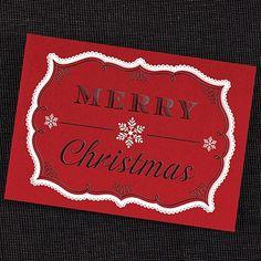 Very #MerryChristmas #HolidayCard. http://foreverfriendsfinestationeryandfavors.com