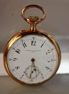Lot 26:15513 Geneve Vagneroy Constantin 14kt. Pocket Watch, Rose Gold