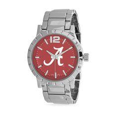 Collegiate Licensed University of Alabama Men's Fashion Watch,  VENDOR CODE: AFF9965, http://www.samanthassilver.com/