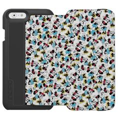 Classic Cute Minnie Mouse Incipio Watson™ iPhone 6 Wallet Case