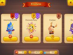 Tiny Castle Items Store: screenshots, UI