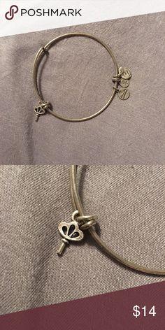Alex and Ani Alex and Ani silver key charm bracelet *WILL MAKE ANY ALEX AND ANI BUNDLE* Alex & Ani Jewelry Bracelets