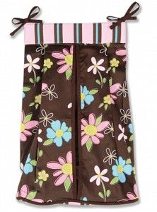 Blossoms Diaper Stacker $15.95  http://sofabulouskids.com/item_2505/Blossoms-Diaper-Stacker.htm#