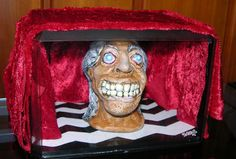 Original art sculpture Killer Bob Twin Peaks inspired Black Lodge One of a kind by Scheres on Etsy