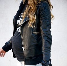Pregnant Street Style: 40 Chic Maternity Outfit Ideas   StyleCaster