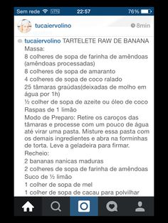 Tortinha de banana