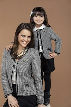 """My mommy dresses me, because she has such good taste."""""""