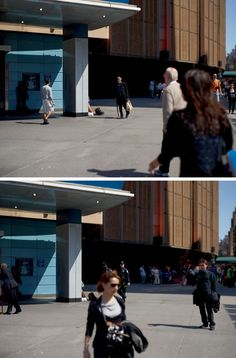 Paul Graham, Penn Station, 4th April 2010, 2.30.31 pm, Diptych from The Present