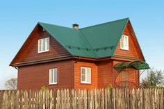 Green roof paint combo sorta of mimics the color of a - Exterior house painting anchorage ...