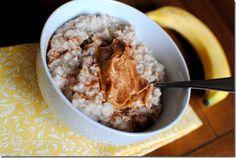 Egg White Oatmeal Recipe | POPSUGAR Fitness