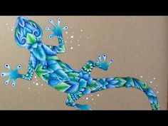 MAGICAL JUNGLE - coloring on craft paper - prismacolor pencils - YouTube